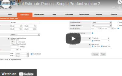 Digital Estimate Process