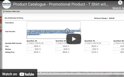 Product Catalogue – Promotional Product